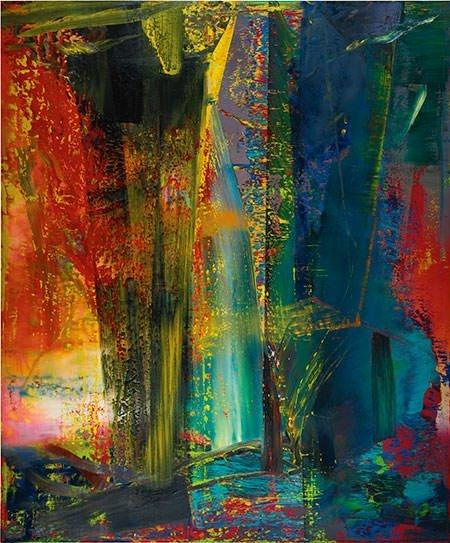 Abstraktes Bild [599] (1986) – Gerhard Richter