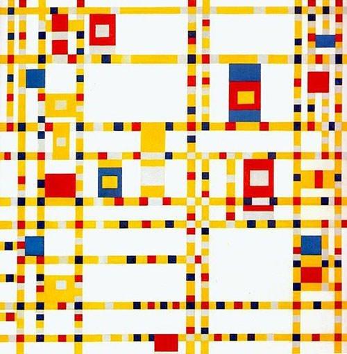 Broadway Boogie Woogie (1943) – Piet Mondrian