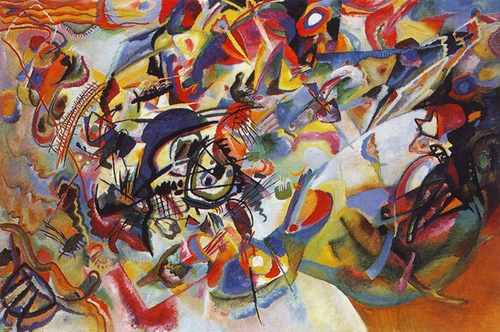 Composition VII (1913) – Wassily Kandinsky