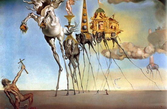 The Temptation of St. Anthony - Salvador Dalí (1946)