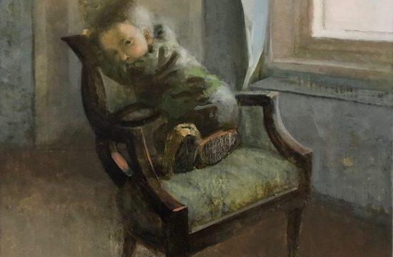 Presence 3 -2019 - Oil on Canvas - 100x80x4